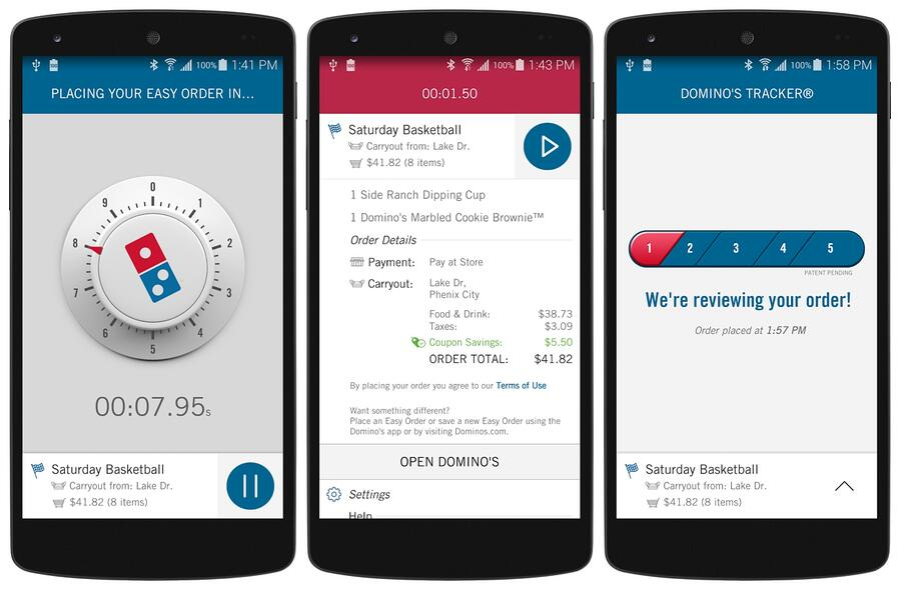 Dominos-Zero-Click-app-Android